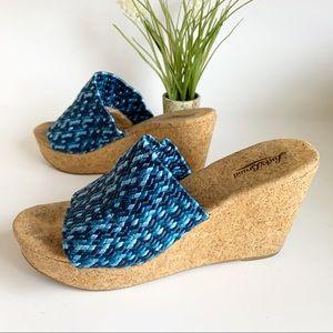 Lucky Brand Marilynn Platform Wedge Sandal